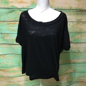 NWT Free People oversized relaxed fit Viola tee
